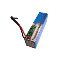 7.4V 3600mAh Lithium Battery Pack with PCM