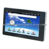 7''  Capacitive mult-touch Tablet PC with  WIFI/Bluetooth/AGPS/Build-in 3G/2G/3G call phone