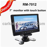 7 inch TFT-LCD monitor,Stand-alone monitor with touch button