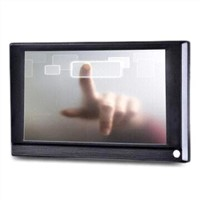 7-inch Touch Screen Advertising Display SD Card Supported for Retail Interactive Communication