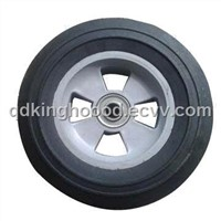 8/10-inch Solid Rubber Wheel for Hand Trolley, Tool Cart, Machines
