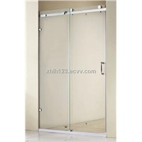 8mm Tempered glass shower door, Stainless steel shower screen China manufacturer