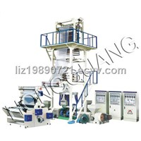 A+B+C Series three-layer Co-extrusion Rotary Die-head film blowing machine