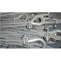 Accessories for wire-rope nets