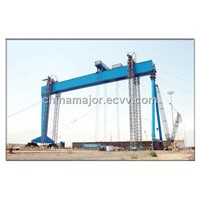 Automated Rail Gantry Crane