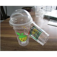 Biodegradable Disposable Cornstarch Transparent Plastic Cup-1
