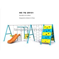 CE/GS Popular Slide-Swing Outdoor Playground (TQ-ZR151) Nature Series