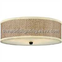 CL019-Fabric Cover Modern Simple Glass Ceiling Light China