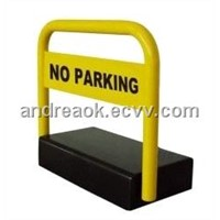 Car Parking Lock Alarm System with Battery Powered Operation and Remote Control Capability