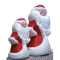 Christmas Inflatable Santa Claus Snowman Tree