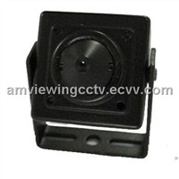 Mini Color Day Night CCD Camera/Indoor Security Pinhole Camera with Audio