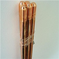 Copper ground rod Measures 17.2 x 1220mm Various Thicknesses are Available