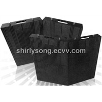 Curved mesh led screen