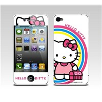Custom made color screen protector with hello kitty pattern