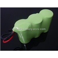 D9000 3.6V 9000mAh Rechargeable NIMH battery pack