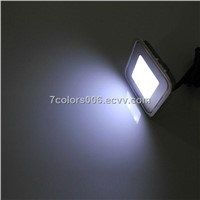 DC12V Square LED Plinth Light White (SC-B102B)