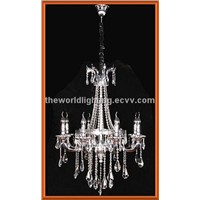 DCACC9003C-8B-High Quality Die Casting Crystal Chandelier / Ceiling Light in China