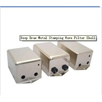 Deep Draw Metal Stamping Wave Filter Shell