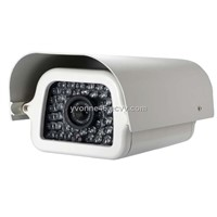 Digital Color CCD IR Waterproof Camera Metal Cover