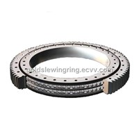Double-row different diameter ball slewing bearing