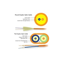 Duplex Round / Flat Optic Cable