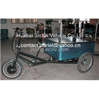 Electric cargo tricycle for cargo