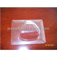 Folded vacuum thermoforming products