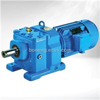 Foot Mounted Helical Gear Speed Reducer