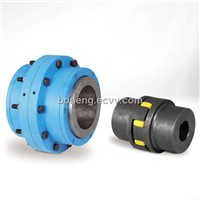GA Series Torsionally Flexible Jaw-Type Couplings and Gc Series Curved-Tooth Gear Couplings