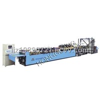 HDL-500-600 seriesThree-side sealing zipper standing bag-making machine