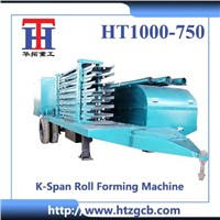 HT1000-750 K Span Roll Forming Machine