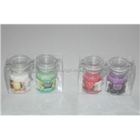 Handicrafted Jar candle
