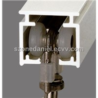 Heavy Duty Square Aluminium Curtain Rail (GD16)