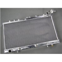 High performance aftermarket auto radiator for MAZDA RX2 RX3 RX4 RX5 with heater pipe 3core