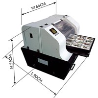 High precision white ink printer acrylic printer