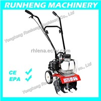 Hot sales! 1.2HP mini Tiller gasoline tiller cultivator with CE approved(RH-T005)