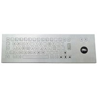 IP65 Metal Keyboard with Trackball (X-BN66F)