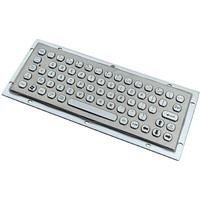 IP65 Industrial Stainless Steel Keyboard (X-NP68B-S)