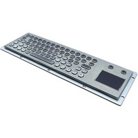 IP65 Metal Keyboard with Touchpad for Industrial Equipment (X-PP701B-S )