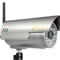 IP camera with 802.11 WIFI, 36pcs Infrared LED