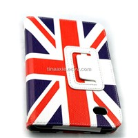 Imported PU leather case for Samsung P1000, 7 inches tablet PC case,