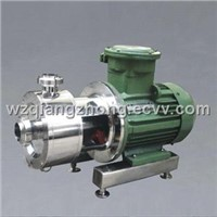 In-line Stainless Steel Emulsifying Pump/Rotor-stator Mixer with High Shearing Rate/Pipeline  Mixer