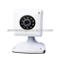 Indoor Wired Day Night Infrared IP Camera,With IR Night Vision