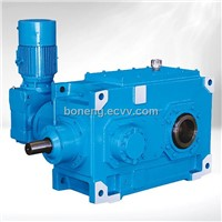 Industrial Bevel-helical Gear Reducer of Bucket Elevator Drive