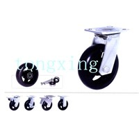 Industrial Casters A Rubber Series 2