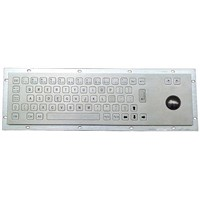 Industrial Stainless Steel Keyboard (X-BN66B)