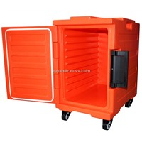 Insulated food transportation container