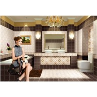 Interior Glazed Ceramic Wall & Floor Tile (MRB0301+MRC0302)