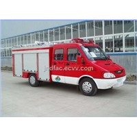 Iveco Mini Fire Engine Truck 2000l