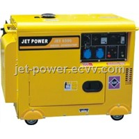 JDE Series type and silent type Air-cooled diesel generator set